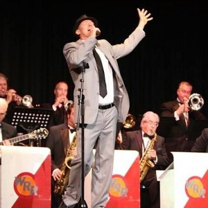 Matt Mauser with the 12 piece Pete Jacobs Big Band